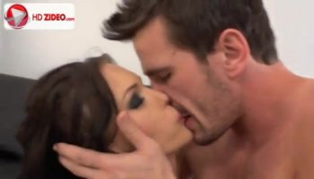 Petite lassie Saori gets nailed by two hunky guys