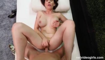 Stepbrother brutalizes his sis' pussy